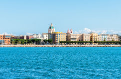 Panoramic view of Trapani, Sicily. Italy. Royalty Free Stock Images