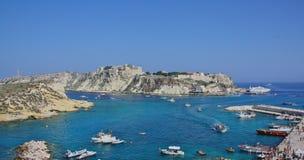 Panoramic view of Tremiti Royalty Free Stock Photos