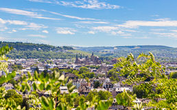 Panoramic view of Trier Rhineland Palatinate Germany.  stock image