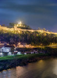 Panoramic view of the Tsarevets Fortress Stock Photo