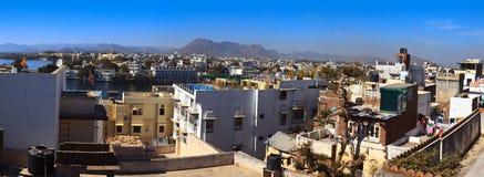 Panoramic view of Udaipur Stock Photo