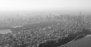 Panoramic view of Upper west side Stock Images