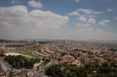 Panoramic view of Urfa city Stock Photos