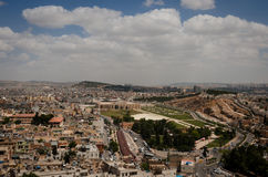 Panoramic view of Urfa city Royalty Free Stock Image