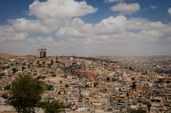 Panoramic view of Urfa city Royalty Free Stock Photography