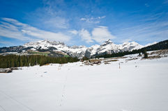 Panoramic view of Urner Alps Stock Images