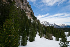 Panoramic view of Urner Alps Royalty Free Stock Photography