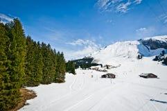 Panoramic view of Urner Alps Stock Image