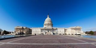 US Capitol. Panoramic view of US Capitol stock photos