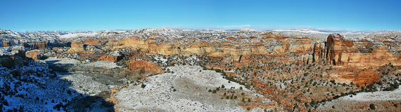 Panoramic View from Utah State Route 12 Scenic Byway Stock Images
