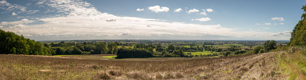 Panoramic view of the vale of York - North Yorkshire - England - Stock Photography