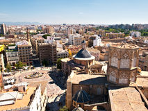 Panoramic view - Valencia Stock Photo