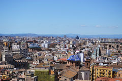 Panoramic view of Valencia - Spain Stock Photography