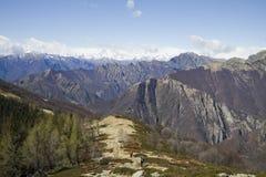 Panoramic view of valgrande Royalty Free Stock Photo