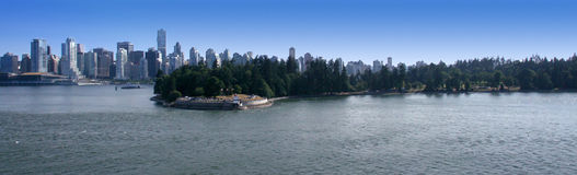 Panoramic view of Vancouver Stock Photos