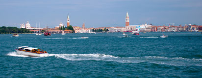Panoramic view of Venezia - Italy Stock Photos