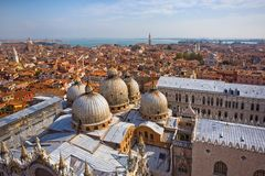 Panoramic view of Venice Royalty Free Stock Photo
