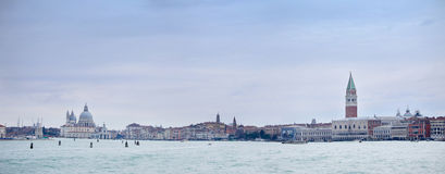 Panoramic view of Venice Stock Photography