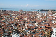 Panoramic view of Venice, Italy Stock Images