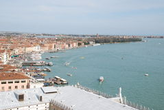 Panoramic view of Venice, Italy Royalty Free Stock Photography