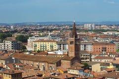 Panoramic view of Verona city Stock Photo