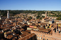 Panoramic View of Verona, Italy Royalty Free Stock Images
