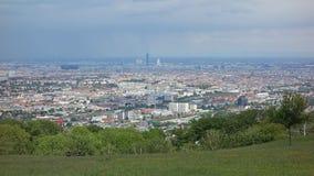 Panoramic view of Vienna Stock Image