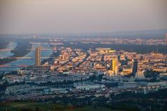 Panoramic View of Vienna Stock Photography