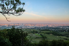 Panoramic View of Vienna Royalty Free Stock Photography