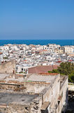 Panoramic view of Vieste. Puglia. Italy. Stock Photography