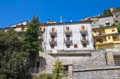 Panoramic view of Viggianello. Basilicata. Italy. Royalty Free Stock Photos