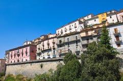 Panoramic view of Viggianello. Basilicata. Italy. Royalty Free Stock Image