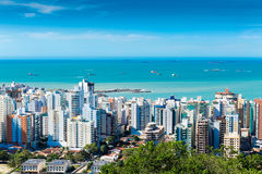 Panoramic view of Vila Velha in Vitoria, Espirito Santo, Brazil Stock Photos