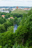 Panoramic view of Vilnius Royalty Free Stock Image