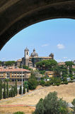 Panoramic view of Viterbo. Lazio. Italy. Stock Image