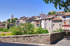 Panoramic view of Viterbo. Lazio. Italy. Stock Images
