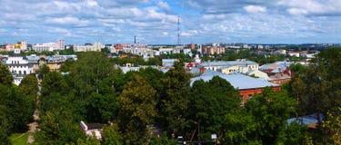 Panoramic view of Vladimir. Russia Stock Image