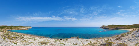 Panoramic view of the water Stock Images