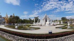 Wat Rong Khun temple view, Chiang Rai, Thailand Royalty Free Stock Photography