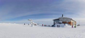 A panoramic view of Ylläs Stock Photos