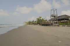 Panoramic views of the beach. Myanmar, Burma Stock Photos