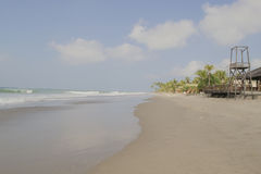 Panoramic views of the beach. Myanmar, Burma Royalty Free Stock Photos