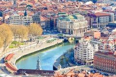 Free Panoramic Views Of Bilbao Old Town, Spain Stock Photo - 119304710