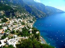 Panoramic views of the sea coast Royalty Free Stock Image