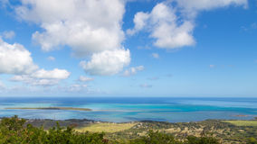 Panoramic views of the sea Royalty Free Stock Image