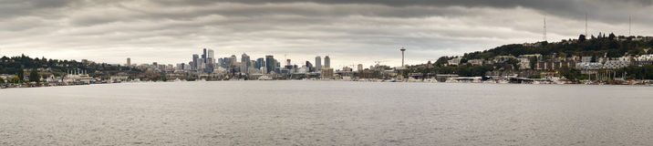 Panoramic views of Seattle Stock Photography