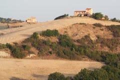 Panoramic views of the Tuscan hills Stock Image
