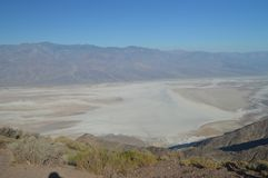 Panoramic Views Of The Valley Of Death. Travel Holidays Geology. royalty free stock photography