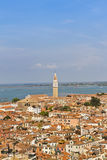 Panoramic views of Venice Stock Photos