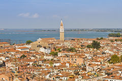 Panoramic views of Venice Royalty Free Stock Photography